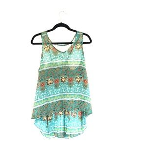 Flowy colorful Tank Top